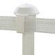 Safe Fence T Post Cap Insulators 10 Pk White