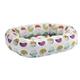 Bowsers Luna Microvelvet Donut Dog Bed XXLarge