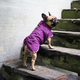 Hurtta Casual Quilted Dog Jacket 26XL Raven