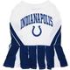 Indianapolis Colts Cheerleader Dog Dress XSmall