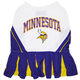 Minnesota Vikings Cheerleader Dog Dress Medium