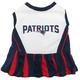 New England Patriots Cheerleader Dog Dress XSmall
