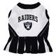 Oakland Raiders Cheerleader Dog Dress XSmall