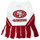 San Francisco 49ers Cheerleader Dog Dress XSmall