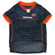 Chicago Bears Orange Trim Dog Jersey XSmall