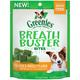 GREENIES BREATH BUSTER Chicken Dog Treat 11oz