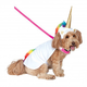 Light Up Unicorn Cape with Hood Pet Costume Large