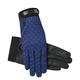 SSG Ladies Cool Tech Open-Air Glove Navy Polka Dot