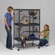 Critter Nation Small Animal Cage Double Unit