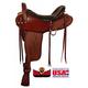 Big Horn 4B Gaited BJH Med Flex Trail Saddle 17in