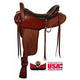 Big Horn 4B Gaited BJH Wide Flex Trail Saddle 17in