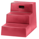 Horsemens Pride 3-Step Mounting Block Red