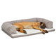 Quiet Time Hampton Mushroom Ortho Sofa Dog Bed 36x