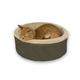KH Mfg Thermo-Kitty Mocha Heated Cat Bed Small