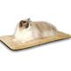 KH Mfg Thermo-Kitty Mat Mocha Heated Cat Bed