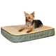 KH Mfg Memory Foam Sleeper Sage Dog Bed Medium