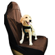 Pet Life Open Road Single Seat Protector Brown