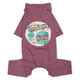 Touchdog Onesie T-Shirt Dog Pajamas XS Red