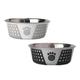 Petrageous Fiji Pet Bowl 3.75c White/Gray