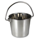 2 Quart Stainless Steel Bucket Pail with Handle
