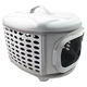 Pet Life Circular Military-Grade Pet Carrier Gray