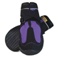 Muttluks Snow Mushers Dog Boots 2-PK Large Purple