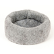 Mysterious Kitty Kup Charcoal Cat Bed
