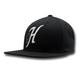 Hooey Jack Black Snapback Hat