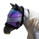 Kensington Mini Fleece Plaid Fly Mask w/Ears B  La