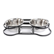 Iconic Pet Heavy Duty Pet Double Diner 8 Cup