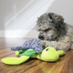 KONG Riptides Large Dog Toy Whale