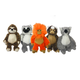 Multipet Bark Buddies Plush Dog Toy Tamarin