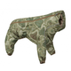 Hurtta Green Camo Downpour Dog Suit w/Clariant 28M