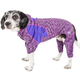 Pet Life Downward Dog Warm Up Hoodie XSmall Purple