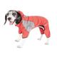Pet Life FurBreeze Full Body Hoodie XSmall Red
