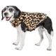 Pet Life Luxe Poocheetah Mink Fur Dog Coat XSmall