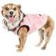 Pet Life Luxe Pinkachew Mink Fur Dog Coat XSmall