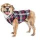 Pet Life Puddler Plaid Dog Coat XSmall