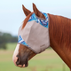 Cashel Designer Fly Mask Horse Blue Zig Zag