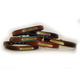 Personalized Leather Dog Collar XS Havana/Chestnut