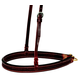Wildfire 1 1/4in Spider Stamp Noseband Rosewood