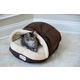 Armarkat Slipper Shape Mocha Pet Bed