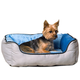 KH Mfg Self-Warming Lounge Sleeper Gray Dog Bed