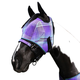 Kensington Fly Mask with Web Trim XX-Large Red Pla
