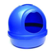Booda Dome Cat Litter Box Blue