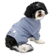 Cozy Thermal Dog Pajamas Large Blue