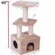 Majestic 40 Inch Casita Cat Furniture Tree