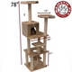 Majestic 78 Inch Casita Cat Furniture Tree