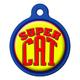 Super Cat Cat ID Tag