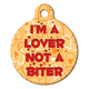 Im a Lover Pet ID Tag Large